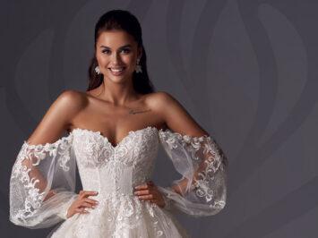 Нова колекція весільних суконь Magnifique Collection 2022 від бренду Allegresse